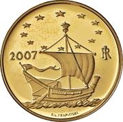 20 Euro (European Arts - Ireland) – avers