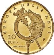 20 Euro (European Arts - Ireland) – revers