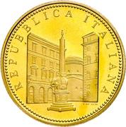 50 euros Faune dans l'art (Le Baroque) – avers