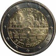 2 euros Basilique Saint-Marc -  avers
