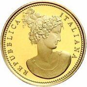 20 euros Flore dans l'art (Néo-classicisme) – avers