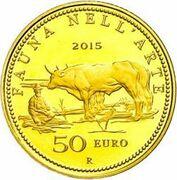 50 euros Faune dans l'art  (Du rococo au Macchiaioli) – revers
