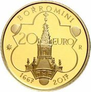 20 euros Francesco Borromini – revers
