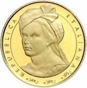 20 euros Artemisia Gentileschi – avers