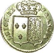 Poids monétaire italien pour le Louis d'or – avers