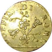 Poids pour la  doppia de Rome de Pie VI à Grégoire XVI – avers