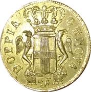 poids Italie. Gênes. Poids monétaire de la pièce de 48 lires (1792-1793) – avers
