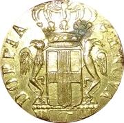 poids Italie. Gênes. Poids monétaire de la pièce de 24 lires (1792-1793) – avers