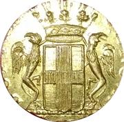 poids Italie. Gênes. Poids monétaire de la pièce de 12 lires (1792-1793) – avers