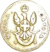 ITALIE - DUCHÉ DE SAVOIE  Poids monétaire pour la demi-doppia – avers