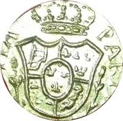 Poids monétaire de la Doppia de Parme Italie 1785-1802 – avers