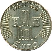 50 cents - FIESOLE PONTASSIEVE – revers