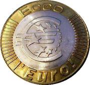 1 Euro (Fiesole-Pontassieve) – avers