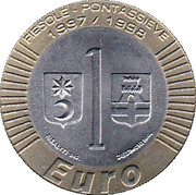 1 Euro (Fiesole-Pontassieve) – revers