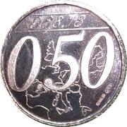0,50 Euro (Miglianico - Chieti - Abruzzo) – avers