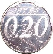 0,20 Euro (Miglianico - Chieti - Abruzzo) – avers