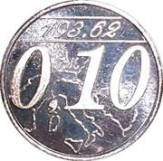 0,10 Euro (Miglianico - Chieti - Abruzzo) – avers