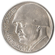 20 lires Mussolini – revers