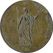 5 lire italiane – avers