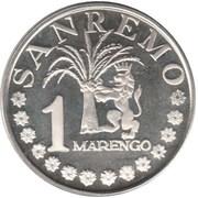 1 Marengo (Sanremo) – avers