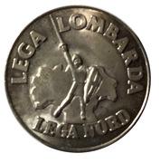 5 Lire (Lega Lombarda) – avers