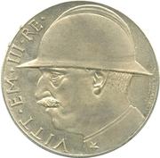 20 Lire - Vittorio Emanuele III – avers
