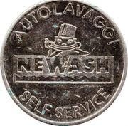 Jeton de lavage automobile - Autolavaggi Newash – avers