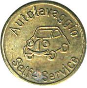 Jeton de lavage automobile - Autolavaggio Self-Service – avers