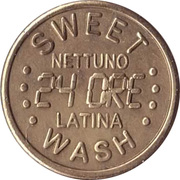 Jeton de lavage automobile - Sweet Wash (Nettuno) – avers