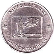 Jeton de lavage automobile - Autolavaggi La Fontanella – avers