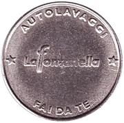 Jeton de lavage automobile - Autolavaggi La Fontanella – revers