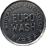 Jeton de lavage automobile - Euro Wash (Ivrea, Turin) – avers