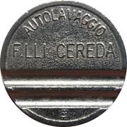 Jeton de lavage automobile - Autolavaggio F.Lli Cereda (Carnate) – avers
