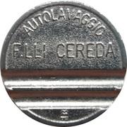 Jeton de lavage automobile - Autolavaggio F.Lli Cereda (Carnate) – revers