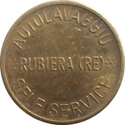 Jeton de lavage automobile - Autolavaggio Rubiera (Rubiera) – revers