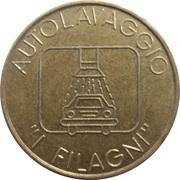 Jeton de lavage automobile - Autolavaggio Filagni (Fornovo di Taro) – avers