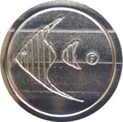 Jeton de lavage automobile - Aquarama (three grooves) – avers