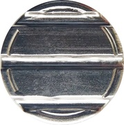 Jeton de lavage automobile - Aquarama (three grooves) – revers