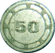 50 Lira - Casarsa della Delizia – revers