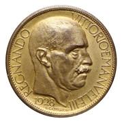 2 Lire - Vittorio Emanuele III. (Exposition à Milan) – avers
