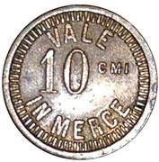 10 centesimi - Vale in Merce – avers