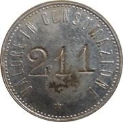 20 centesimi – avers