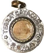 Religious Medal - Terra Catacombe Roma - Cecilia – avers
