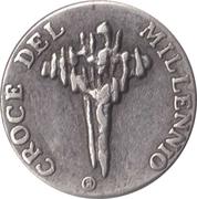 Token - Croce del Millennio – avers