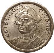 Token - Cristoforo Colombo (Caravel) – avers