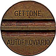 Trolleybus Token - Gettone Autofiloviario (Brescia) – avers
