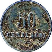 50 centesimi - Torino 32 – avers