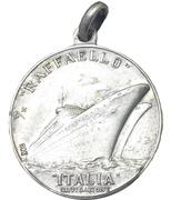 Medal - Nave SS Raffaello – revers