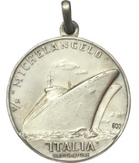 Medal - Nave SS Michelangelo – revers