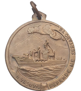 Medal - Nave A 5329 Vesuvio – avers